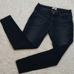 PAIGE Verdugo Ultra Skinny Dark Wash Blue Jeans